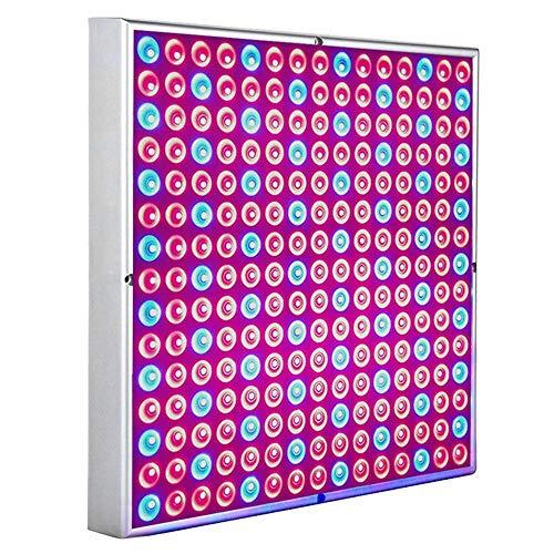 Hengda LED Pflanzenlampe 15W Pflanzenleuchte für Gewächshaus 225 LEDs Red Blue Voll Spektrum Pflanzenlicht für Sämling, Garten, Blumen, Innengarten Grow Lampe
