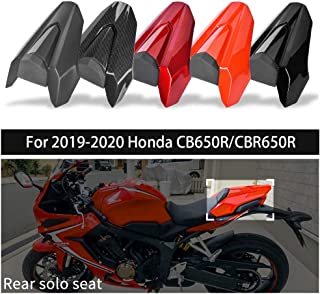 FATExpress CB650R CBR650R Accessories Motorcycle Rear Passenger Pillion Solo Seat Cowl Cover Motor Fairing Tail Section fo...