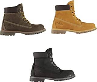 Official Brand Lee Cooper Cooper 6in Rugged Boots Juniors Boys Shoes Boot Kids Footwear