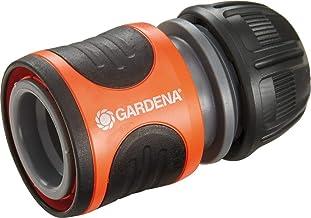 """GARDENA waterstop 13 mm (1/2"""") en 15 mm (5/8""""): Steekaansluiting met aquastop, Power Grip, hoge slangklemkracht, eenvoudig..."""