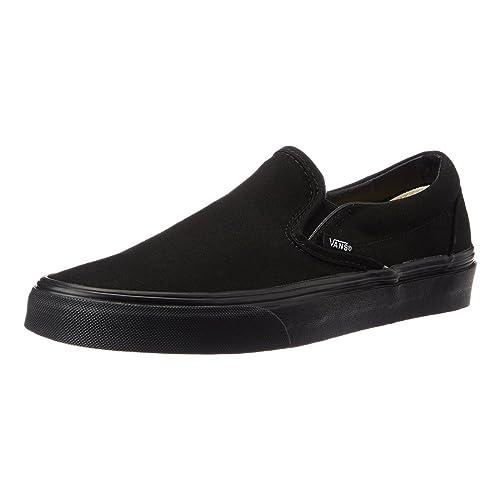 70b29da95c Vans Unisex Classic Slip-On Black Black VN000EYEBKA