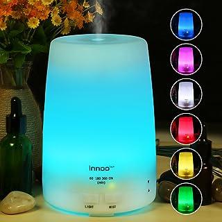 Innoo Tech Aroma Diffuser, 300ml Aromatherapy, Essential Oil Diffuser, Ultrasonic Humidifier & Cool Mist Humidifier Automa...