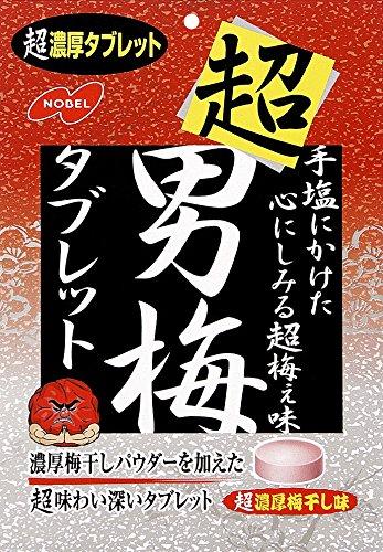 ノーベル 男梅 超男梅タブレット 袋30g