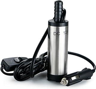 flintronic® 12V Pompe Carburant, Pompe Vidange Eau (huile, diesel voiture de transfert..