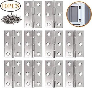 LATERN 10 piezas de bisagras de acero inoxidable Conectores