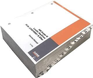 Case 580 Super K Loader Backhoe Workshop Repair Service Manual - Part Number # 8-16481