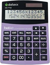$25 » Datexx 2-Line TrackBack Business Large Desktop Calculator, DD-7722