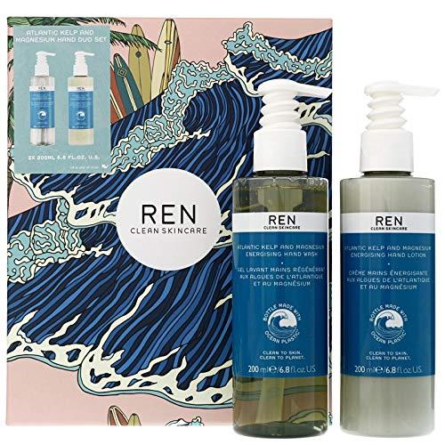 Gifts by REN Clean Skincare Coffret cadeau duo de soins pour les mains au varech Atlantique