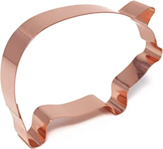 large copper cookie cutters