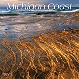 Michigan Coast 2020 12 x 12 Inch Monthly Square Wall Calendar, USA United States of America Midwest State Nature (English, French and Spanish Edition)