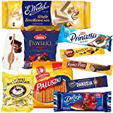 Snacks ByEurop Sweets of Poland Premium Candy Polish Snack Box 3lb, Ultimate Variety Gift Box Sampler Pack Assortment of Treats
