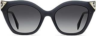 Fendi FF0357/G/S 807 Black FF0357/G/S Cats Eyes Sunglasses Lens Category 3 Size