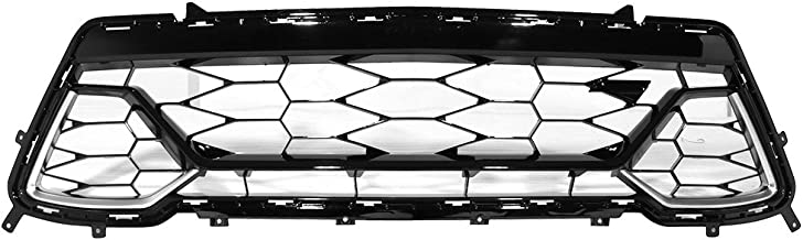 Grille Compatible With 2016-2019 Chevy Camaro | 50th Anniversary Front Lower Grill by IKON MOTORSPORTS | 2017 2018