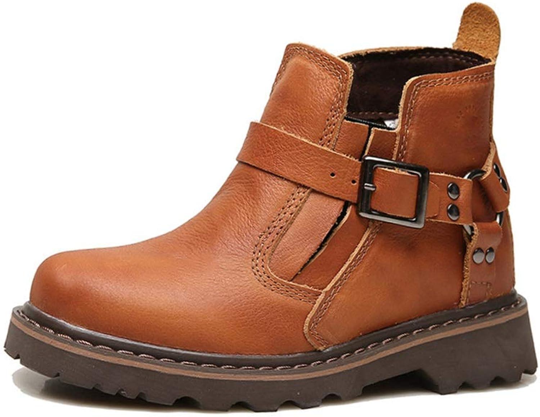 075d954ec694ae Ywqwdae Ywqwdae Ywqwdae Mens Classic Jodhpur Stiefel Weiche Sohle Haltbare  Echtleder Chelsea Stiefel (Farbe Rot