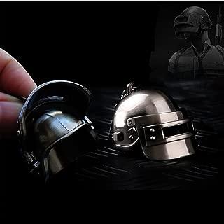 for Playerunknown's Battlegrounds PUBG Model Metal Level 3 Helmet Keychain