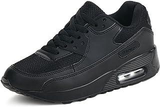 comprar comparacion Moda Mujer Entrenador de Running de Aire Transpirable Jogging Fitness Sneakers Casual Walking Shoes Negro EU 37