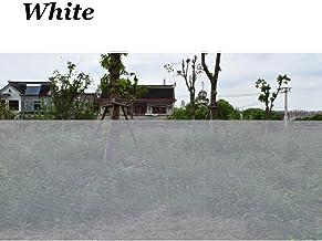 """Glasvezel schermrol, raamgaasscherm voor raam, deur en terras, schermbescherming, terrasschermen, wit, 1.5x10m (59""""x32.8ft)"""