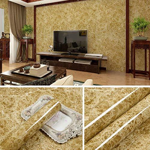 Dicke marmor möbel aufkleber tür kleiderschrank stein selbstklebende wandaufkleber wasserdicht tapete tapete 0,6 mt * 5 mt licht kaffee netting