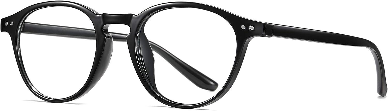 SKILEC Gafas Anti Luz Azul Gafas Lectura Hombre Mujer Gafas Ordenador TR90 Filtro Azul UV Gafas Presbicia Hombre Antifatiga para PC, Gaming, Tablet, TV, Lentes Transparentes
