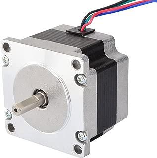 STEPPERONLINE Small Current Nema 23 Stepper Motor Bipolar 0.88A 85oz.in/0.6Nm Hobby DIY CNC