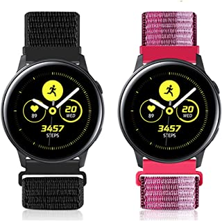 WNIPH 20mm Quick Release Watch Band for Samsung Galaxy Watch 42mm/Active2 44mm 40mm/Gear Sport/Gear S2 Classic/Garmin Vivo...