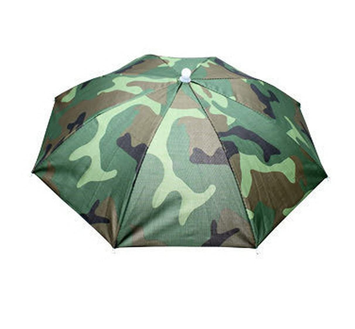 Crazy Cart(TM Shade to Protect Your Head for Fishing Beach Golf Party for Adults & Kids Umbrella Hat