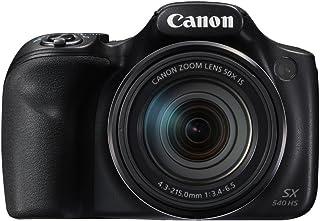 Canon PowerShot SX540 HS - 20 MP Compact Camera, Black