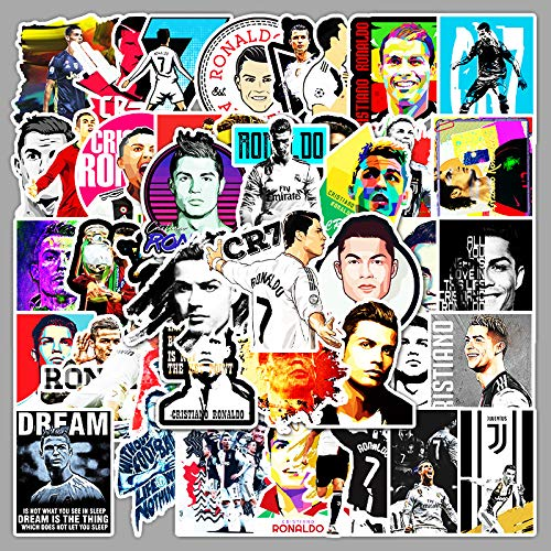 YZFCL Stickers President Real Madrid Ronaldo Football Star Computer Waterproof Suitcase Sticker