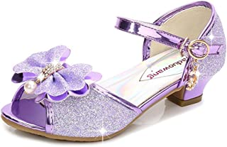 Kid's Fashion Little Girl's Glitter Pretty Party Dress Pumps Sandals Wedding Party Shoes