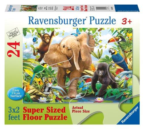 Jungle Juniors 24 PC Floor Puzzle