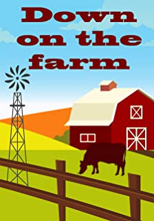 "Briarwood Lane Down On The Farm Summer Garden Flag 12.5"" x 18"""