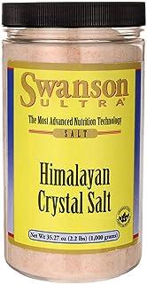 Swanson Himalayan Crystal Salt 35.27 Ounce (1000 g) Salt