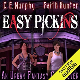 Easy Pickings     A Jane Yellowrock/Walker Papers Crossover              By:                                                                                                                                 Faith Hunter,                                                                                        C. E. Murphy                               Narrated by:                                                                                                                                 Khristine Hvam,                                                                                        Gabra Zackman                      Length: 3 hrs and 8 mins     615 ratings     Overall 4.5