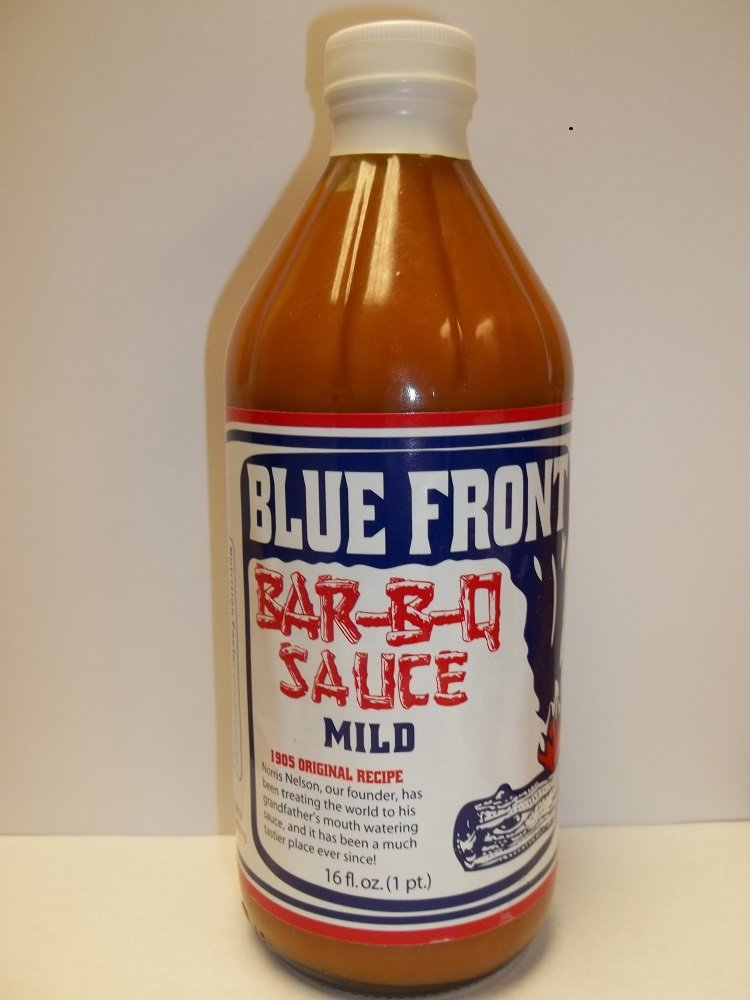 Blue Front Sauce BBQ Mild Pack Max 79% OFF of 16 6 Courier shipping free shipping oz