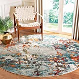 SAFAVIEH Madison Collection MAD471F Modern Abstract...