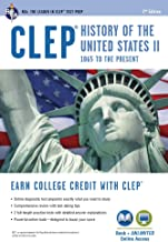CLEP® History of the U.S. II Book + Online (CLEP Test Preparation)