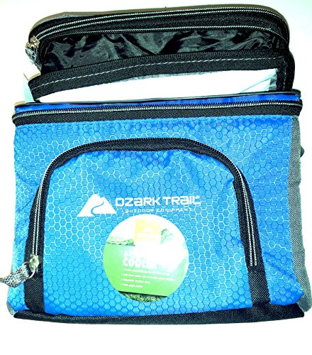 Ozark Trail 6 Can Cooler with Expandable Top (Blue)
