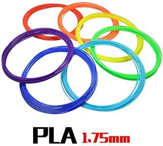 Upgraded 3D Printer Filament for 3D Print Pen Multicolor 3D Printing Accessories (10 Colors 5 Meters),Upgraded 3D High-Pre...