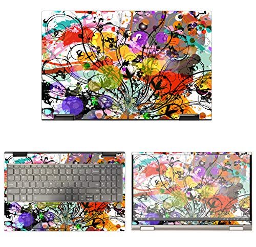 Decalrus - Protective Decal Bamboo Skin Sticker for Lenovo Yoga C740 (15.6' Screen) case Cover wrap LEyoga15_C740-30