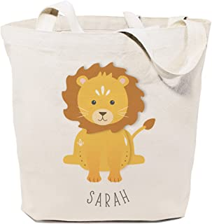 The Cotton & Canvas Co. Animal Tote and Handbag for Kids, Teens and Adults