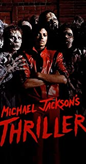 VVWV Mj Thriller Michael Jackson for Ever Posters for Wall Living Room Boys Girls Motivational Dancing Wall Stickers W X H...