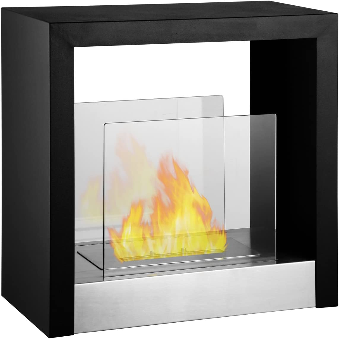 Freestanding Special price for a limited time Ventless Bio Ethanol Fireplace Ignis Max 82% OFF S - Tectum