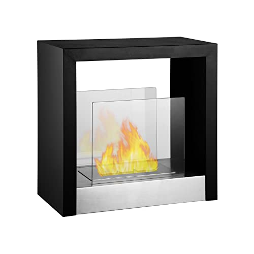 Free Standing Ventless Gas Fireplace Amazon Com