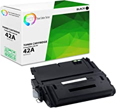 TCT Premium Compatible Toner Cartridge Replacement for HP 42A Q5942A Black Works with HP Laserjet 4240 4240N 4250 4250DTN 4250N 4250TN 4350 4350DTN 4350N Printers (10,000 Pages)