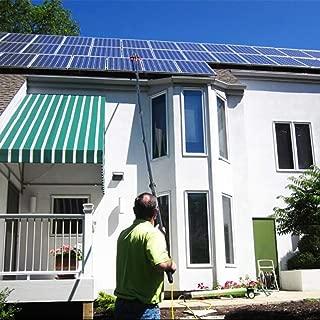 YXLONG Ventana De Limpieza De Paneles Fotovoltaicos Cepillo Telescópico Alimentado con Agua Limpia Limpiador Extensible Herramientas De Limpieza De Techos De Invernadero