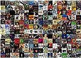 YDHGreatest - Album rock di tutti i tempi, puzzle da 1000 pezzi e album rock, ogni pezzo è unico, tecnologia...