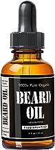 Leven Rose, 100% Pure Organic Beard Oil, Fragrance Free, 1 fl oz (30 ml)
