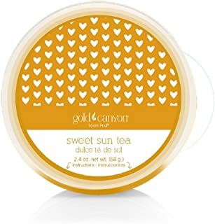 Gold Canyon Candles Scent Pod Wickless Candle (Sweet Sun Tea) ~ Notes of Lemon, Black Tea & Honey.