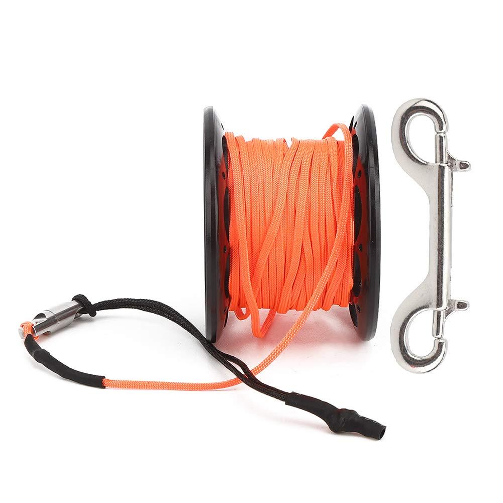 Plastic Sales Inexpensive Line Wheel 15m Wire Diving Hook Dual Reel Heads