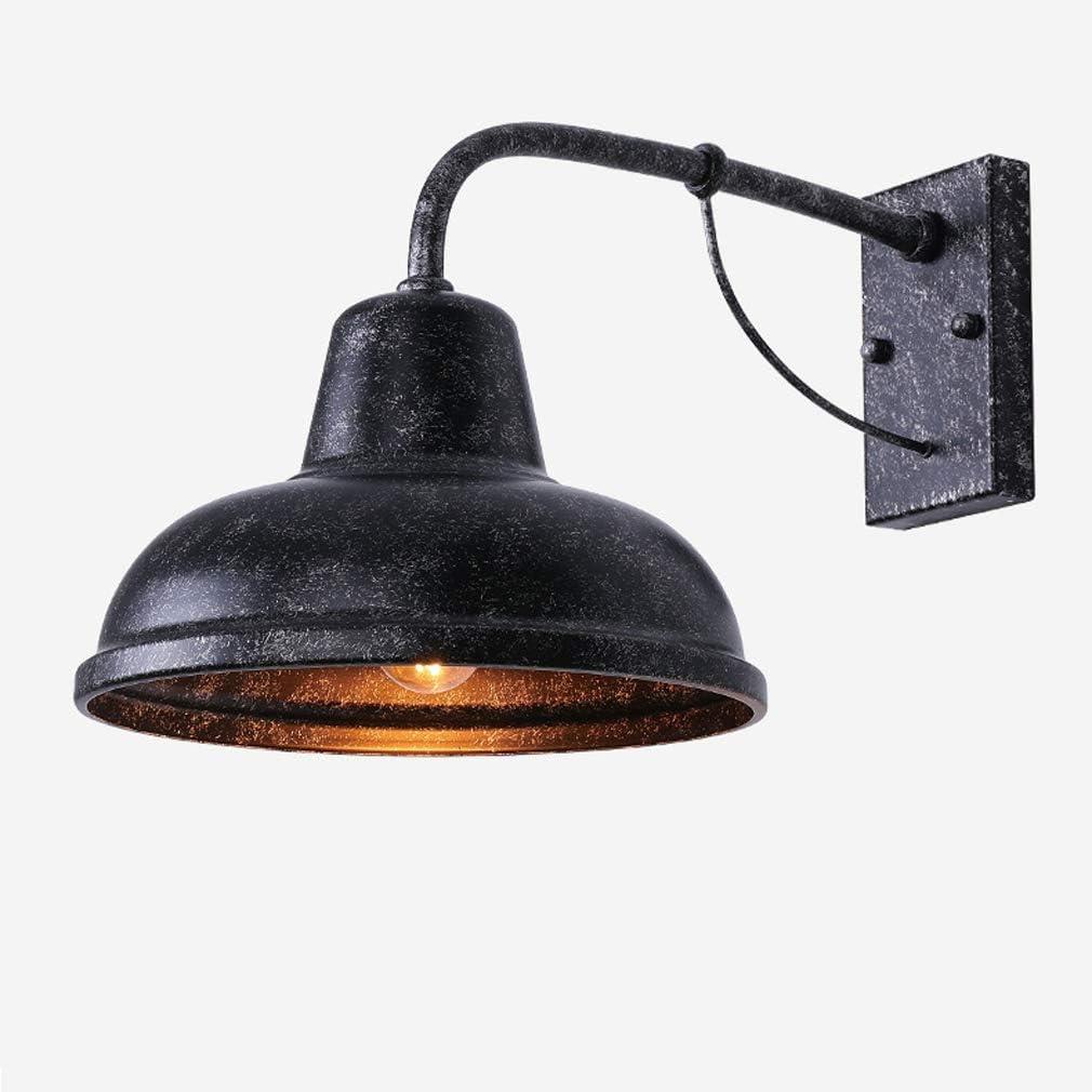 Blanc Chaud Lightsjoy Applique Murale Int/érieur LED 10W IP54 /Étanche Lampe Murale Up Down Lampe Lumi/ère 1000LM Aluminium pour Chambre Maison Couloir Salon Escalier balcon v/éranda Noir